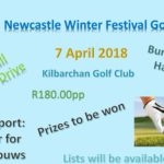 Invite to the 2018 Golf Day
